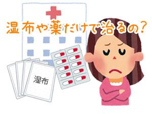 各務原市の交通事故 腰痛は湿布や薬で治るの?